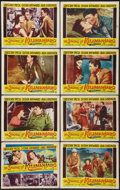 "Movie Posters:Adventure, The Snows of Kilimanjaro (20th Century Fox, 1952). Lobby Card Setof 8 (11"" X 14""). Adventure.. ... (Total: 8 Items)"