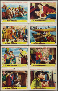 """The Master of Ballantrae (Warner Brothers, 1953). Lobby Card Set of 8 (11"""" X 14""""). Swashbuckler. ... (Total: 8..."""