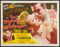 """Movie Posters:Musical, The Merry Widow (MGM, 1952). Half Sheet (22"""" X 28""""). Style B. Musical.. ..."""
