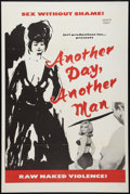 """Movie Posters:Sexploitation, Another Day, Another Man Lot (Juri Productions, 1966). One Sheets(2) (27"""" X 41""""). Sexploitation.. ... (Total: 2 Items)"""