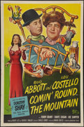 """Movie Posters:Comedy, Comin' Round the Mountain (Universal International, 1951). One Sheet (27"""" X 41""""). Comedy.. ..."""