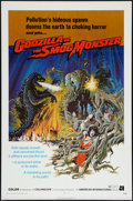 "Movie Posters:Science Fiction, Godzilla vs. the Smog Monster (American International, 1972). OneSheet (27"" X 41""). Science Fiction.. ..."