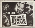 """Movie Posters:Film Noir, The Face Behind The Mask (Columbia, R-1955). Half Sheet (22"""" X 28""""). Film Noir.. ..."""