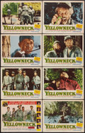 "Movie Posters:Adventure, Yellowneck (Republic, 1955). Lobby Card Set of 8 (11"" X 14"").Adventure.. ... (Total: 8 Items)"
