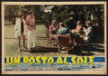 """Movie Posters:Drama, A Place In The Sun (Paramount, 1951). Italian Photobustas (2) (19.25"""" X 13.5""""). Drama.. ... (Total: 2 Items)"""