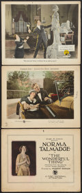 """Movie Posters:Drama, The Wonderful Thing Lot (First National, 1921). Title Lobby Card and Lobby Cards (2) (11"""" X 14""""). Drama.. ... (Total: 3 Items)"""