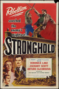 "Movie Posters:Adventure, Stronghold (Lippert, 1952). One Sheet (27"" X 41""). Adventure.. ..."