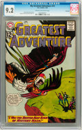 Silver Age (1956-1969):Adventure, My Greatest Adventure #75 Savannah pedigree (DC, 1963) CGC NM- 9.2 Cream to off-white pages....