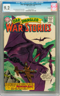 Silver Age (1956-1969):Science Fiction, Star Spangled War Stories #113 Savannah pedigree (DC, 1964) CGC NM- 9.2 Off-white to white pages....