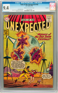 Tales of the Unexpected #62 Savannah pedigree (DC, 1961) CGC NM 9.4 Cream to off-white pages