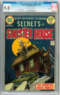 Bronze Age (1970-1979):Horror, Secrets of Sinister House #16 Savannah pedigree (DC, 1974) CGCNM/MT 9.8 Off-white to white pages....
