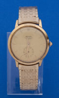 Timepieces:Wristwatch, Rolex 18k Gold Reference 9081 Wristwatch For Restoration. ...