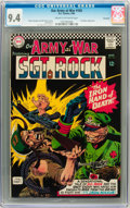 Silver Age (1956-1969):Superhero, Our Army at War #165 Savannah pedigree (DC, 1966) CGC NM 9.4 Cream to off-white pages....
