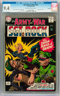 Our Army at War #165 Savannah pedigree (DC, 1966) CGC NM 9.4 Cream to off-white pages