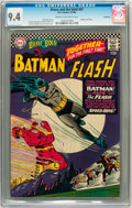 Silver Age (1956-1969):Superhero, The Brave and the Bold #67 Batman and Flash - Savannah pedigree (DC, 1966) CGC NM 9.4 Cream to off-white pages....