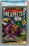 Silver Age (1956-1969):Science Fiction, Tales of the Unexpected #102 Savannah pedigree (DC, 1967) CGC NM+9.6 White pages....