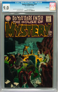 Silver Age (1956-1969):Horror, House of Mystery #177 Savannah pedigree (DC, 1968) CGC VF/NM 9.0Off-white to white pages....
