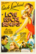 "Movie Posters:Comedy, Love Before Breakfast (Universal, 1936). One Sheet (27"" X 41"")....."