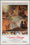 "Movie Posters:Animated, The Lord of the Rings (United Artists, 1978). One Sheet (27"" X41""). Style B. Animated.. ..."
