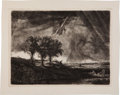 "Books:Prints & Leaves, [Rembrandt Van Rijn]. William Bailie. ""The Three Trees."" ..."