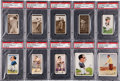 Golf Cards:General, 1920's and 1930's Churchman's and Wills Cigarette Complete Sets (6) - An Almost Exclusive Golf Assembly. ...