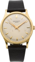 Timepieces:Wristwatch, Patek Philippe Fine Ref. 570 Large Calatrava Center SecondsWristwatch, circa 1957. ...