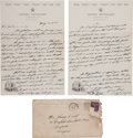Baseball Collectibles:Others, 1939 Phil Rizzuto Signed, Handwritten Letter....