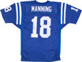 Football Collectibles:Uniforms, Peyton Manning Signed Jersey....