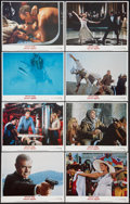 """Movie Posters:James Bond, Never Say Never Again (Warner Brothers, 1983). Lobby Card Set of 8 (11"""" X 14""""). James Bond.. ... (Total: 8 Items)"""