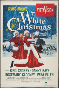 "White Christmas (Paramount, 1954). One Sheet (27"" X 41""). Musical"