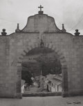 Photographs:20th Century, TINA MODOTTI (American, 1896-1942). Untitled (Archway), circa1925. Vintage gelatin silver. 13-1/4 x 10-3/8 inches ( 33....