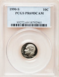 Proof Roosevelt Dimes: , 1990-S 10C PR69 Deep Cameo PCGS. PCGS Population (2955/212). NGCCensus: (363/134). Numismedia Wsl. Price for problem free...
