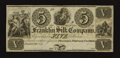 Obsoletes By State:Ohio, Franklin, OH- Franklin Silk Company $5. ...