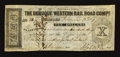 Obsoletes By State:Iowa, Dubuque, IA- Dubuque Western Rail Road Compy. $10 Dec. 12, 1857....