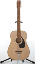 Musical Instruments:Acoustic Guitars, Circa 1960s Cortley 45 Natural Acoustic Guitar....
