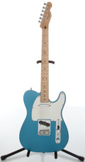 Musical Instruments:Electric Guitars, 1990s Fender Standard Telecaster Lake Placid Blue Electric Guitar,#MN6147850....