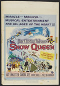 "Movie Posters:Animated, The Snow Queen (Universal, 1960). Window Card (14"" X 22"").Animated. Directed by Bob Fisher, Phil Patton and Alan Lipscott...."