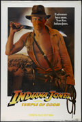 "Movie Posters:Adventure, Indiana Jones and the Temple of Doom (Paramount, 1984). One Sheet(27"" X 41"") Advance. Adventure. Directed by Steven Spielbe..."