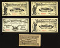 Miscellaneous:Other, World's Columbian Exposition Chicago 1893 Tickets.. ... (Total: 5notes)