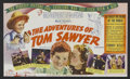 """Movie Posters:Adventure, The Adventures of Tom Sawyer (United Artists, 1938). Herald (5.75""""X 6.75""""). Adventure. Directed by Norman Taurog. Starring ..."""