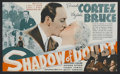 "Movie Posters:Mystery, Shadow of Doubt (MGM, 1935). Herald (5.75"" X 6.75""). MysteryComedy. Directed by George B. Seitz. Starring Ricardo Cortez, V..."