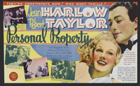 """Personal Property (MGM, 1937). Herald (5.75"""" X 6.75""""). Romantic Comedy. Directed by W.S. Van Dyke. Starring Je..."""
