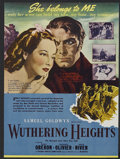"""Movie Posters:Romance, Wuthering Heights (United Artists, 1939). Herald (6"""" X 8.75""""). Romantic Drama. Directed by William Wyler. Starring Merle Obe..."""