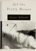 Books:Literature 1900-up, Cormac McCarthy. All the Pretty Horses. New York: Alfred A.Knopf, 1992.. First edition. Signed by the author on...