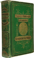 Books:First Editions, Jules Verne. Twenty Thousand Leagues Under the Seas. Boston:James R. Osgood, 1873. The true first American edition....