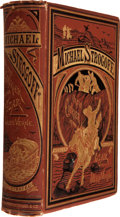 Books:Literature Pre-1900, Jules Verne. Michael Strogoff, the Courier of the Czar. NewYork: Scribner, Armstrong & Co., 1877.. First Amer...