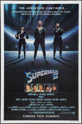 "Movie Posters:Action, Superman II (Warner Brothers, 1981). One Sheets (2) (27"" X 41"")Advance and Regular Styles and Small Poster (8"" X 10""). Acti...(Total: 3 Items)"