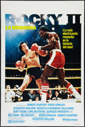 "Movie Posters:Sports, Rocky II (United Artists, 1979). One Sheets (2) (27"" X 41"") Regular and One Stop Spanish Styles, and Souvenir Program (20 Pa... (Total: 3 Items)"