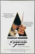 "Movie Posters:Science Fiction, A Clockwork Orange (Warner Brothers, 1971). Belgian (14"" X 21.5""). Science Fiction.. ..."