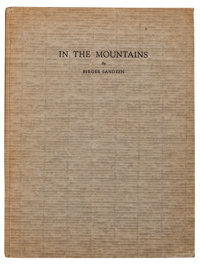 BIRGER SANDZÉN (American, 1871-1954) In the Mountains: Reproductions of Lithographs and Wood Cuts of the Colora...